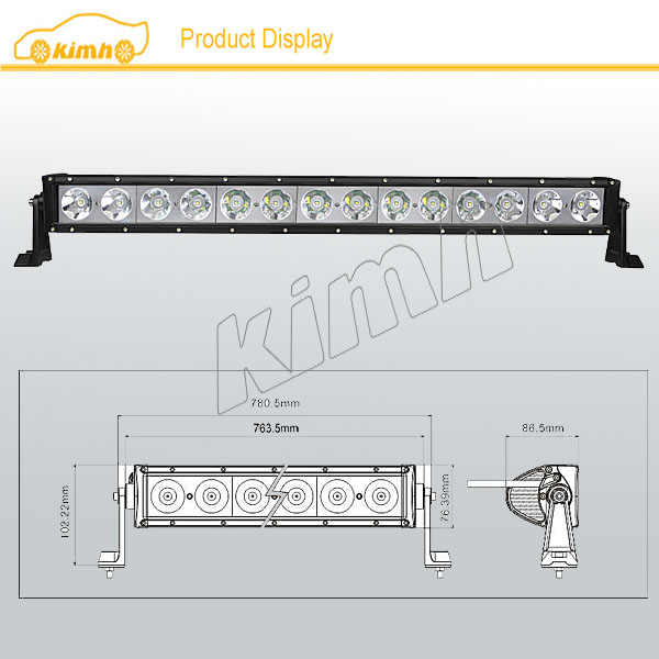 140w led light bar