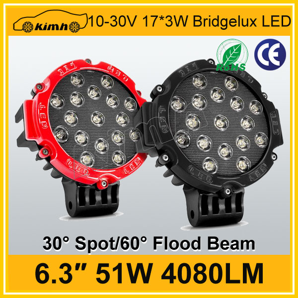 51w led work light